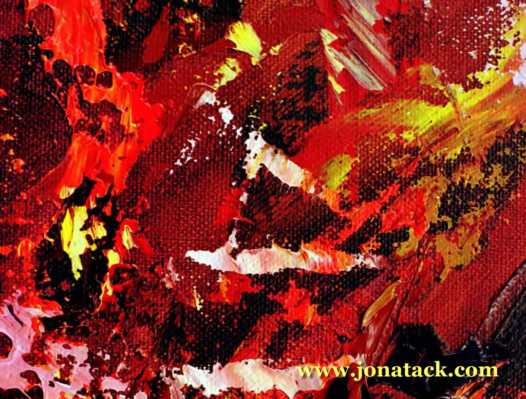 Detail from blustering-2 oil painting.  View more oil paintings by selecting oils from the paintings menu.
