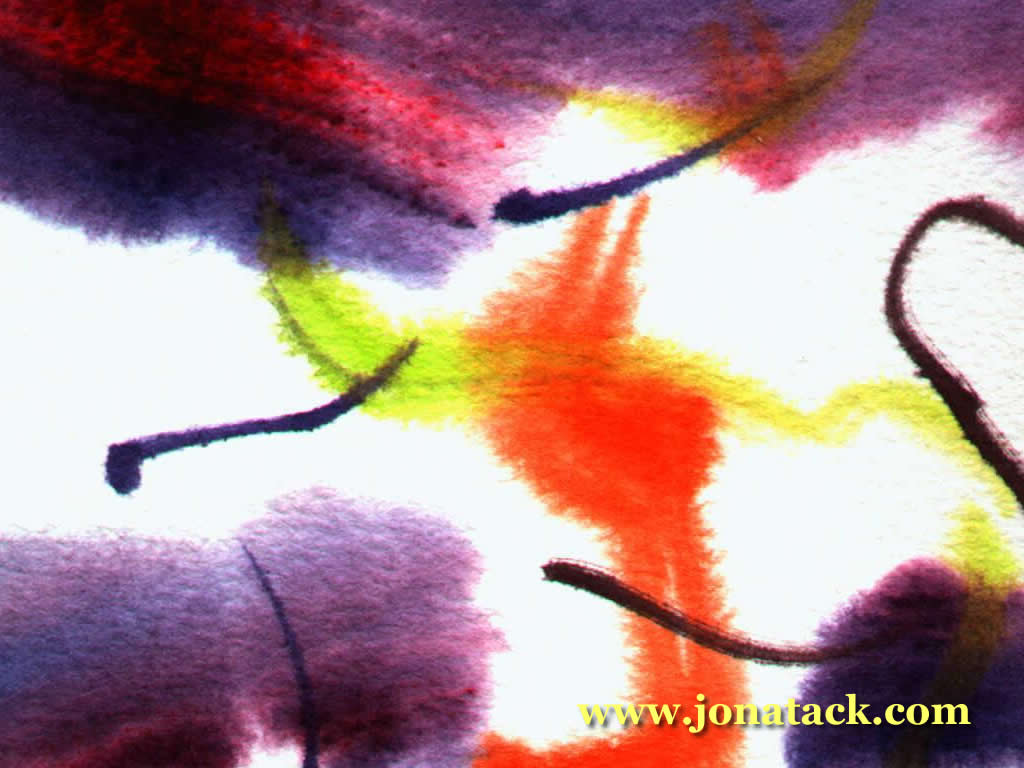 Detail from watercolour: j2-4.